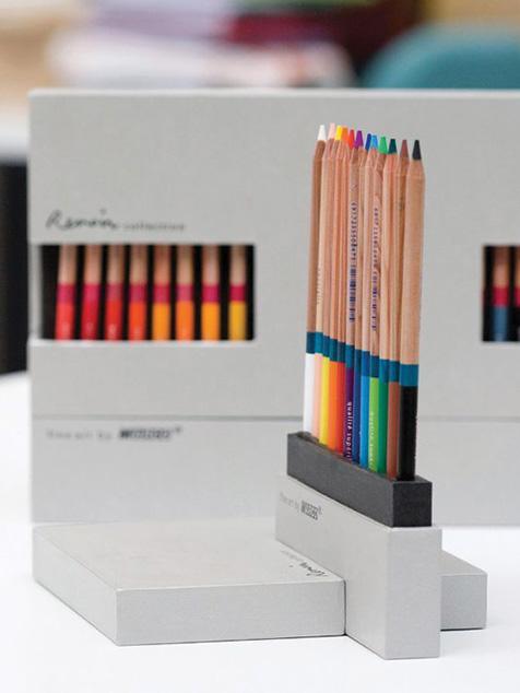جعبه مداد رنگی