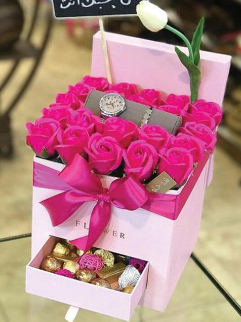 جعبه گل کشو دار