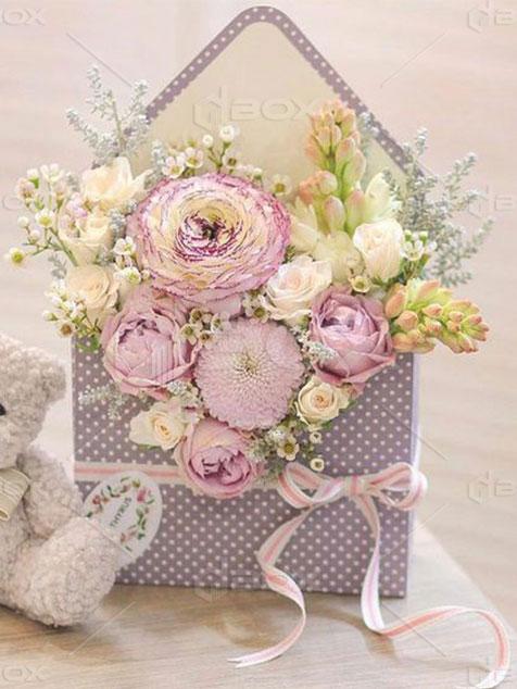 جعبه گل خاص