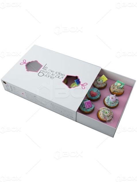 جعبه کاپ کیک