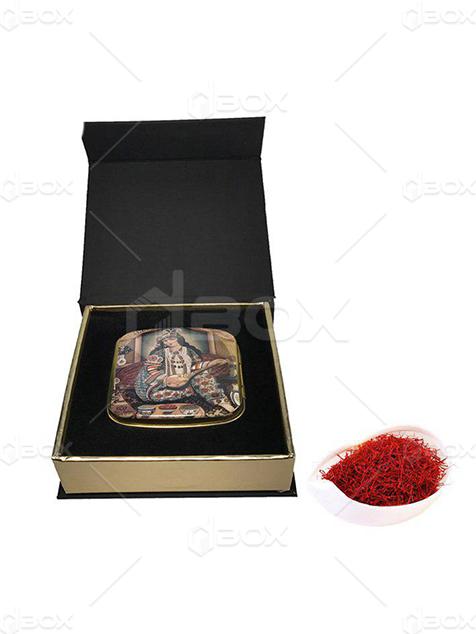 جعبه زعفران مگنتی