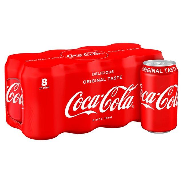 کوکا کولا - روانشناسی رنگ ها در بسته بندی