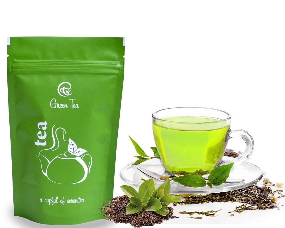 چای سبز - روانشناسی رنگ ها در بسته بندی